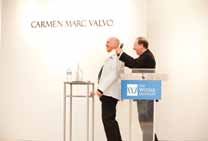 Carmen Marc Valvo receives the President's Award