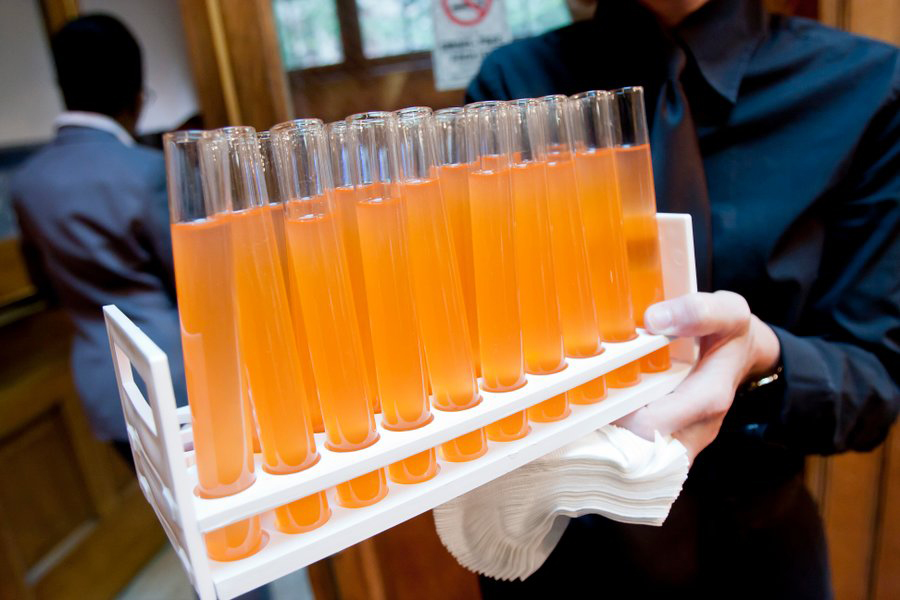 Test tube drinks