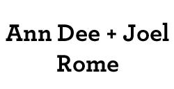 Ann Dee and Joel Rome