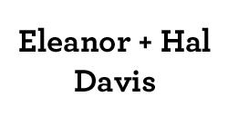 Eleanor and Hal Davis