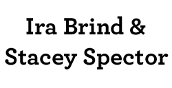 Ira Brind and Stacey Spector