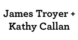 James Troyer and Kathy Callan