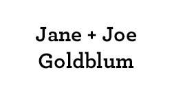 Jane & Joe Goldblum