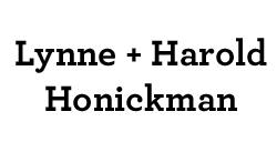 Lynne and Harold Honickman
