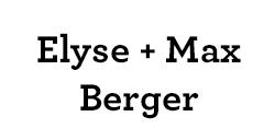 Elyse & Max Berger