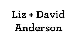 Liz & David Anderson