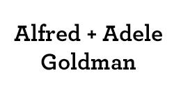 Alfred & Adele Goldman