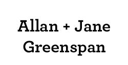 Allan & Jane Greenspan