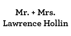 Mr. & Mrs. Lawrence Hollin