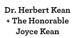 Dr. Herbert Kean & The Honorable Joyce Kean