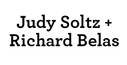Judy Soltz & Richard Belas