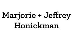 Marjorie & Jeffrey Honickman