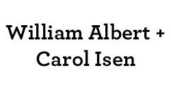 William Albert & Carol Isen