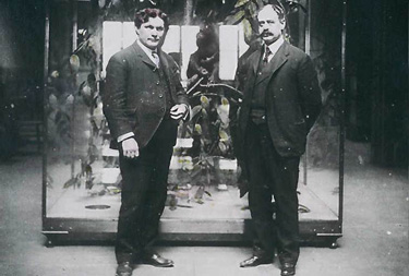 2nd and 3rd Directors of the Institue; Dr. Horace Jayne (L) (1894-1905), and Dr. Milton J. Greenman (R) (1905-1937).