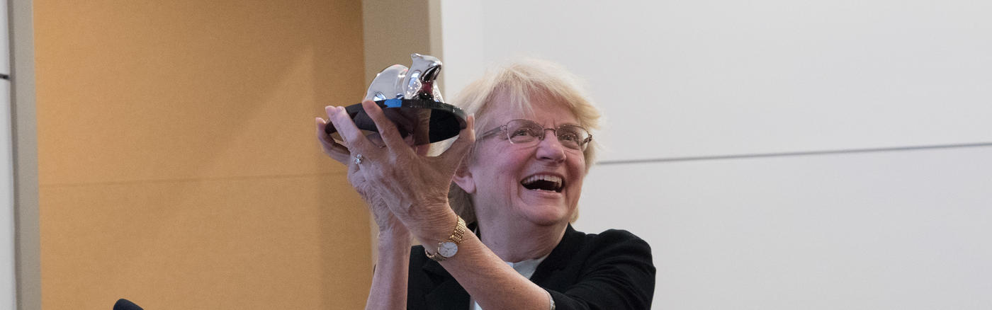 Nancy Hopkins receives Helen Dean King Award