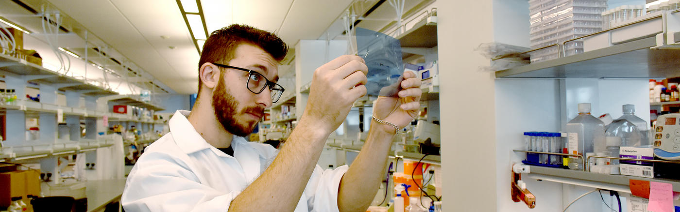 Joe Zundell is enrolled in the Wistar - USciences Ph.D. Program