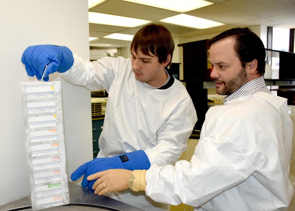 (L-R) Matt Fair and Dr. Luis Montaner