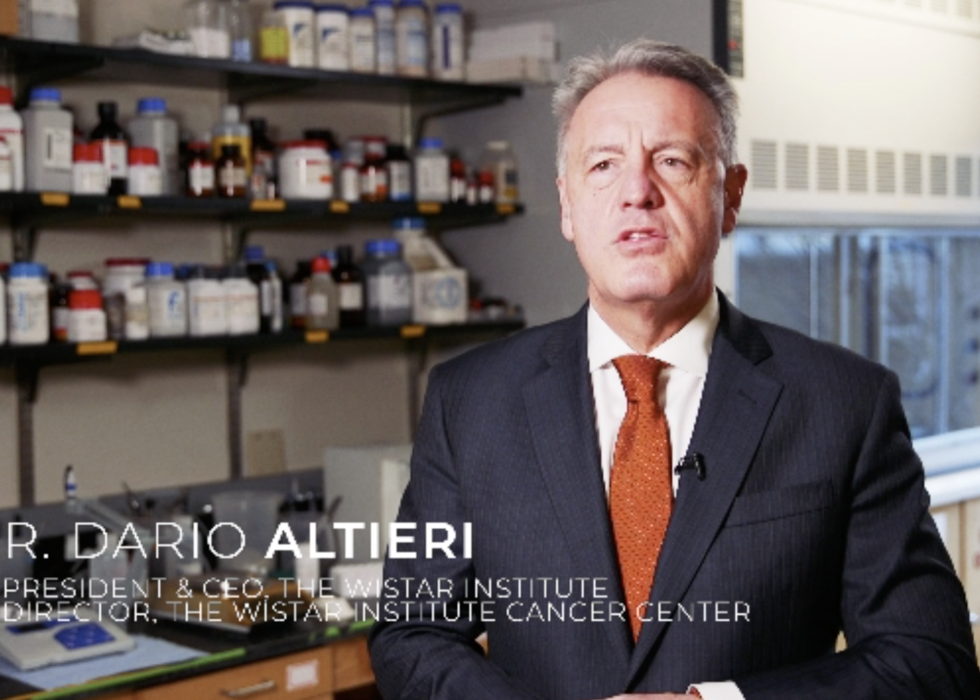 President & CEO Dr. Dario Altieri